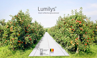 Beaulieu showcases the economical value of Lumilys for apples at Interpoma 2016